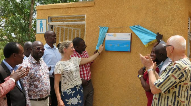 MODERN SANITARY FACILITIES FOR  COMMUNITY TRANS NURSERY AND PRIMARY SCHOOL